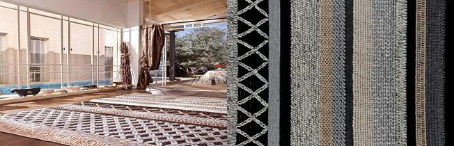 שטיח מצמר - דגם ברוש