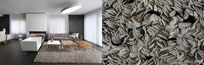 שטיח מצמר - דגם רוז