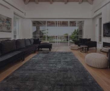 שטיח ג'זאל כחול כהה