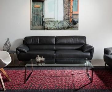 שטיח אלקטרה אדום שחור