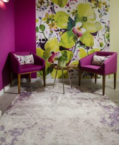 שטיח אמבר בצבע בז למשרד
