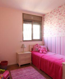 שטיח אלרן בצבע וורוד לחדרי תינוקות וילדים