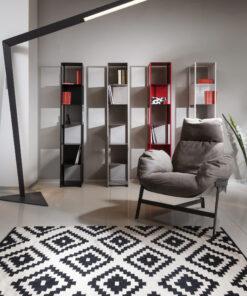שטיח ברלין כותנה בצבע שחור למשרד