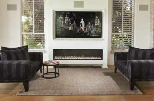 שטיח סיגרם לסלון בצבע אפור בינוני