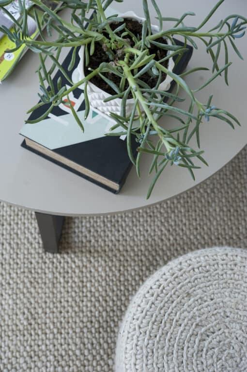 שטיח סיגרם בצבע גריג לסלון